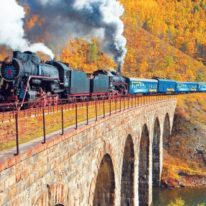 Trans-Siberian Lake Baikal train tour Russia