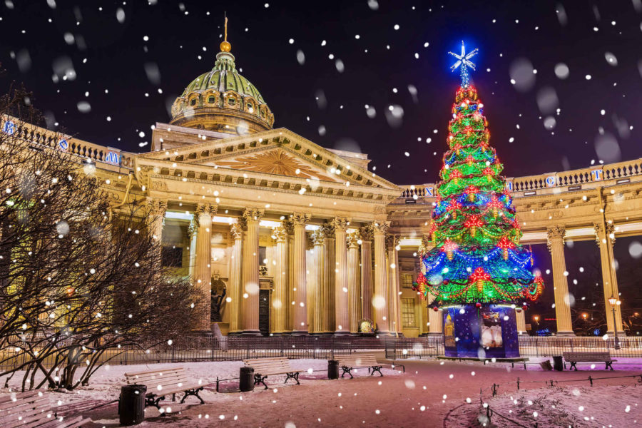 St Petersburg Moscow Russia winter tour Christmas New Years tour