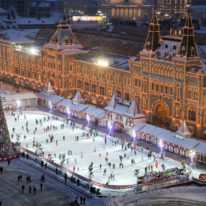 Russia winter tour Christmas and New Years