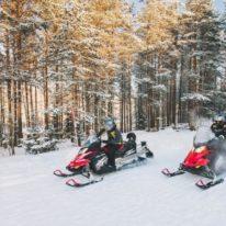 Karelia winter tour Russia