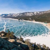 Lake Baikal Ice Winter tour
