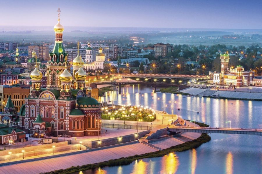 Volga River cruise Russia luxury