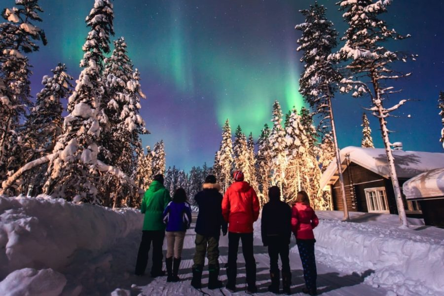 Russia Northen Lights tours Aurora Murmansk