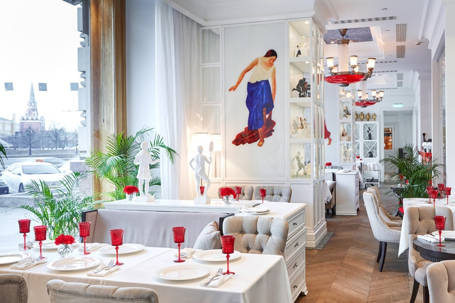 Moscow Restaurants Grand Café Dr. Zhivago